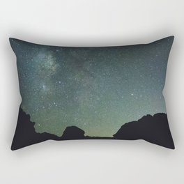 Blue Night Sky, Valley of Fire NV Rectangular Pillow