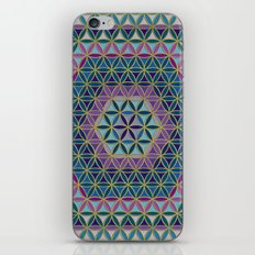 Flower of Life variation #3 iPhone & iPod Skin