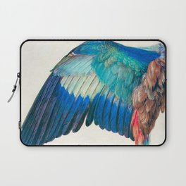 Wing of a Blue Roller by Albrecht Durer 1512 // Anatomy of a Birds Wing Wildlife Nature Decor Laptop Sleeve