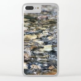 Pebble Creek Clear iPhone Case