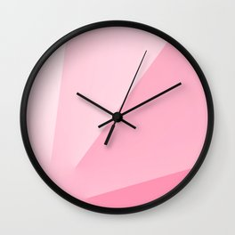 Salmon Mirror Wall Clock