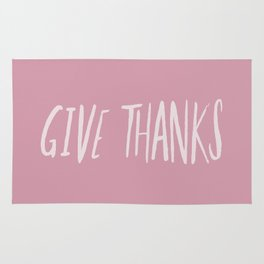 Give Thanks x Rose Rug