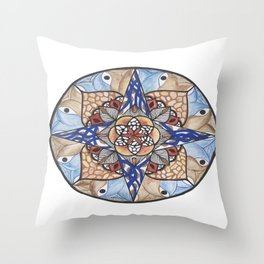 Hidden Jewel Throw Pillow