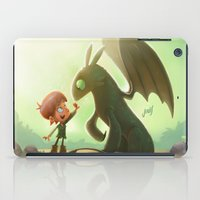 how to train your dragon iPad Cases featuring How to Train Your Dragon Fan Art by Daniel Jervis Art