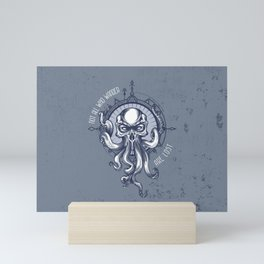 Not all who wander are Lost - Octopus Mini Art Print