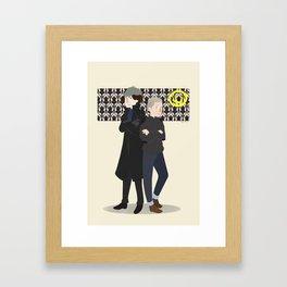 Baker Street Boys Framed Art Print