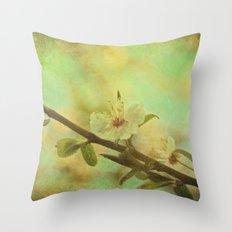 Springtime Blossom Throw Pillow