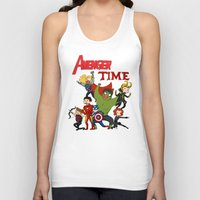 avenger Tank Tops featuring Avenger Time! by ArtisticCole