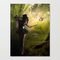 tinker bell Canvas Prints featuring Tinker Bell by Best Light Images