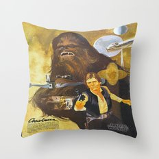 Star Chewbacca Wars Throw Pillow