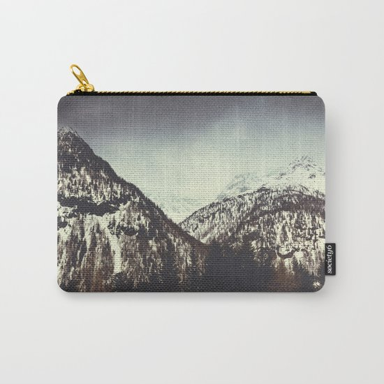 End of Winter in the mountains Carry-All Pouch