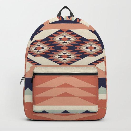Native American Geometric Pattern Backpack