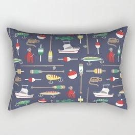 Bait & Sail Rectangular Pillow