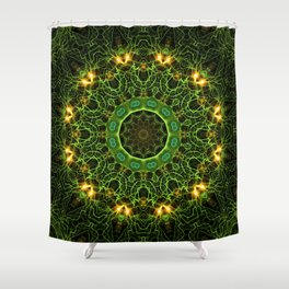 Electric Avenue Shower Curtain