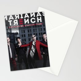 marianas trench personel tour 2021 Stationery Cards