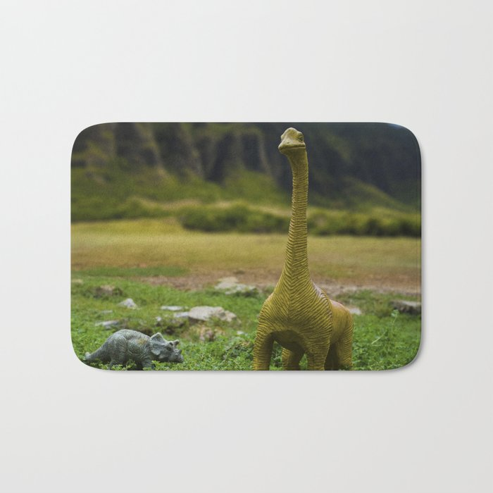 Dinosaur Land Bath Mat