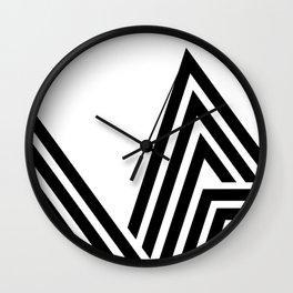 Hello V Wall Clock