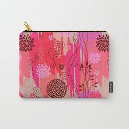 Boho Floral Pattern Var. 10 Carry-All Pouch