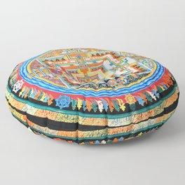 Mandala Buddhist 8 Floor Pillow