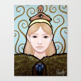 Wapakosis - Mouse Canvas Print