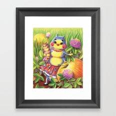 Mama Caterpillar Framed Art Print