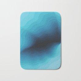 Cubed Glacier III Bath Mat