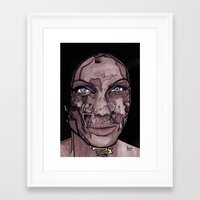 occult Framed Art Prints featuring The occult by Joseph Walrave