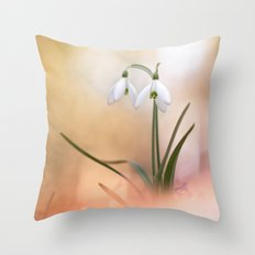 The very breath of spring Throw Pillow