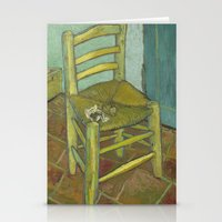van Stationery Cards featuring Van Gogh by Palazzo Art Gallery