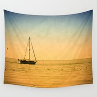 sailboat Wall Tapestries featuring sailboat by Photo list