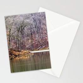 early spring in Ohio Stationery Cards