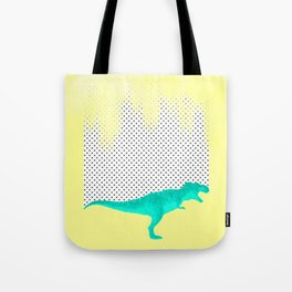 dino got the blues, or not! Tote Bag
