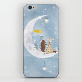 starlight wishes with you iPhone Skin