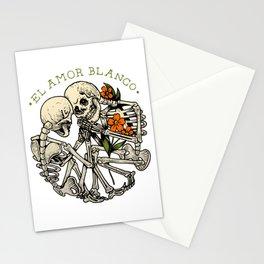 El amor blanco Stationery Cards