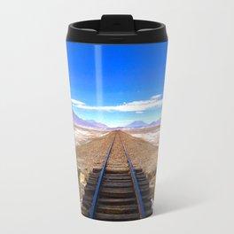 Bolivian Train Track Travel Mug