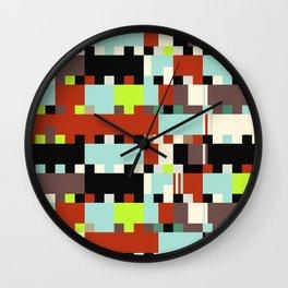 Chopin Fantaisie Impromptu (Dublin Airport Colours) Wall Clock