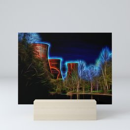 Digital Art Ironbridge Power Station Mini Art Print