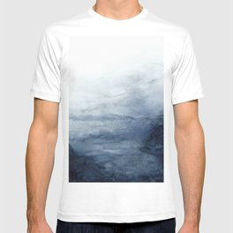 Indigo Abstract Painting | No.2 T-shirt