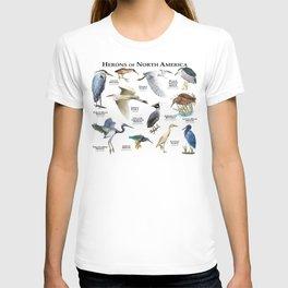 Herons of North America T-shirt