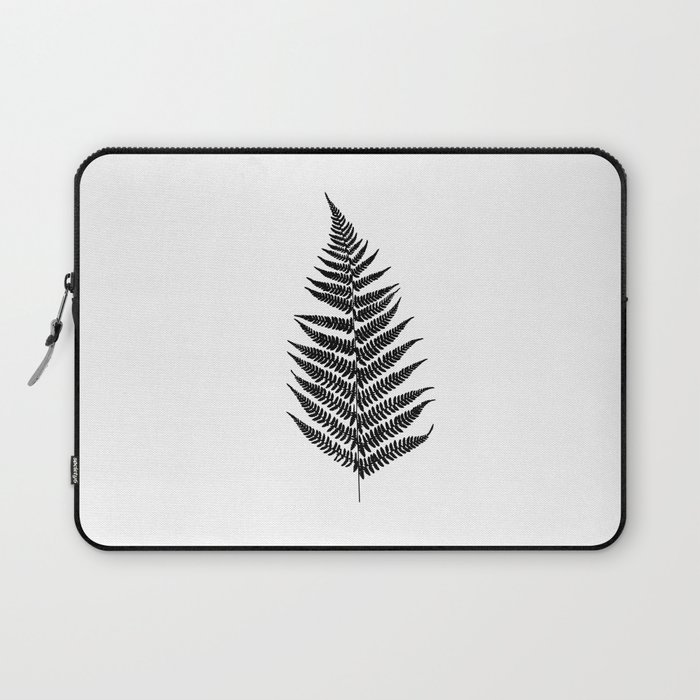 Fern silhouette Laptop Sleeve