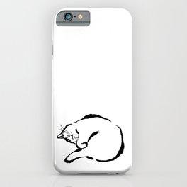 Sleeping Cat iPhone Case