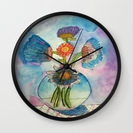 First Still Wall Clock