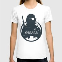tintin T-shirts featuring John Carpenter's Escape From New York by Alain Bossuyt