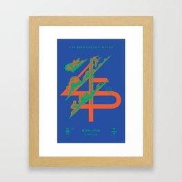 Bon Iver __45___ Design Framed Art Print