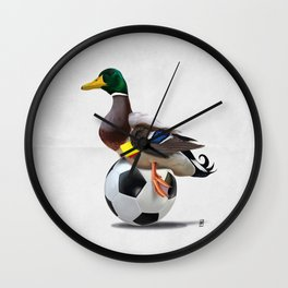 Fowl (Wordless) Wall Clock