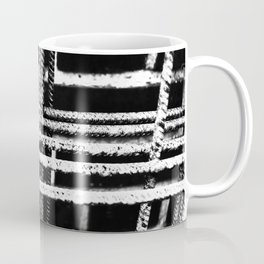 Rebar And Brick - Industrial Abstract Coffee Mug