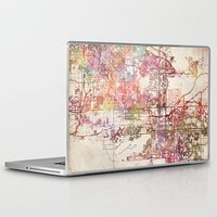 phoenix Laptop & iPad Skins featuring Phoenix  by MapMapMaps.Watercolors