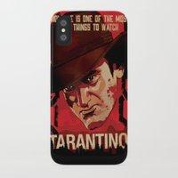 tarantino iPhone & iPod Cases featuring TARANTINO Unchained by Jesus De La Mora