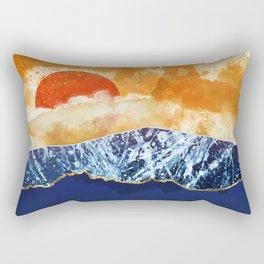 Amber Dusk Rectangular Pillow