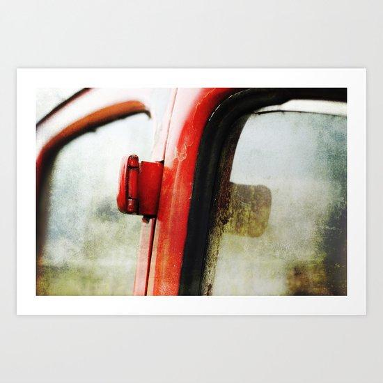 36 Ford Hinge Art Print